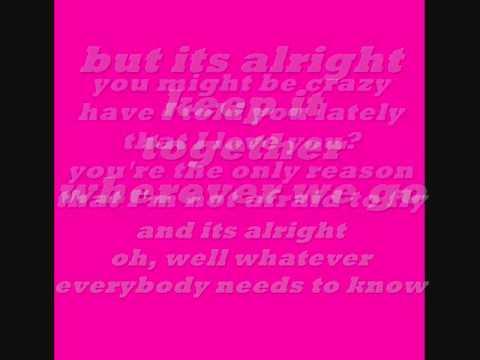Tori Vega-You're The Reason lyrics