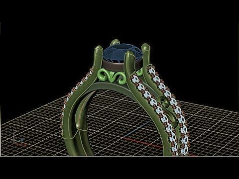 T splines Library - Matrix 8 tutorial - CAD ring
