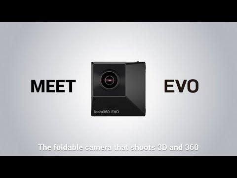 Meet the Insta360 EVO, a foldable camera that shoots 3D 180º video and 360º 5.7K video