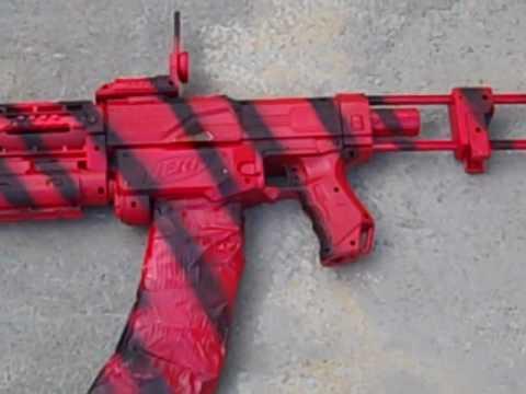 Stryfe Paint Job Red