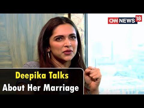 Deepika Padukone On Tying the Knot with Ranveer Singh & Personal Issues   CNN News18