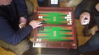 Слава - Бордей (Короткие нарды / Backgammon 11 pts) - часть 1