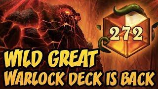 Wild Great Warlock Deck Is Back! | Rastakhan's Rumble | Hearthstone