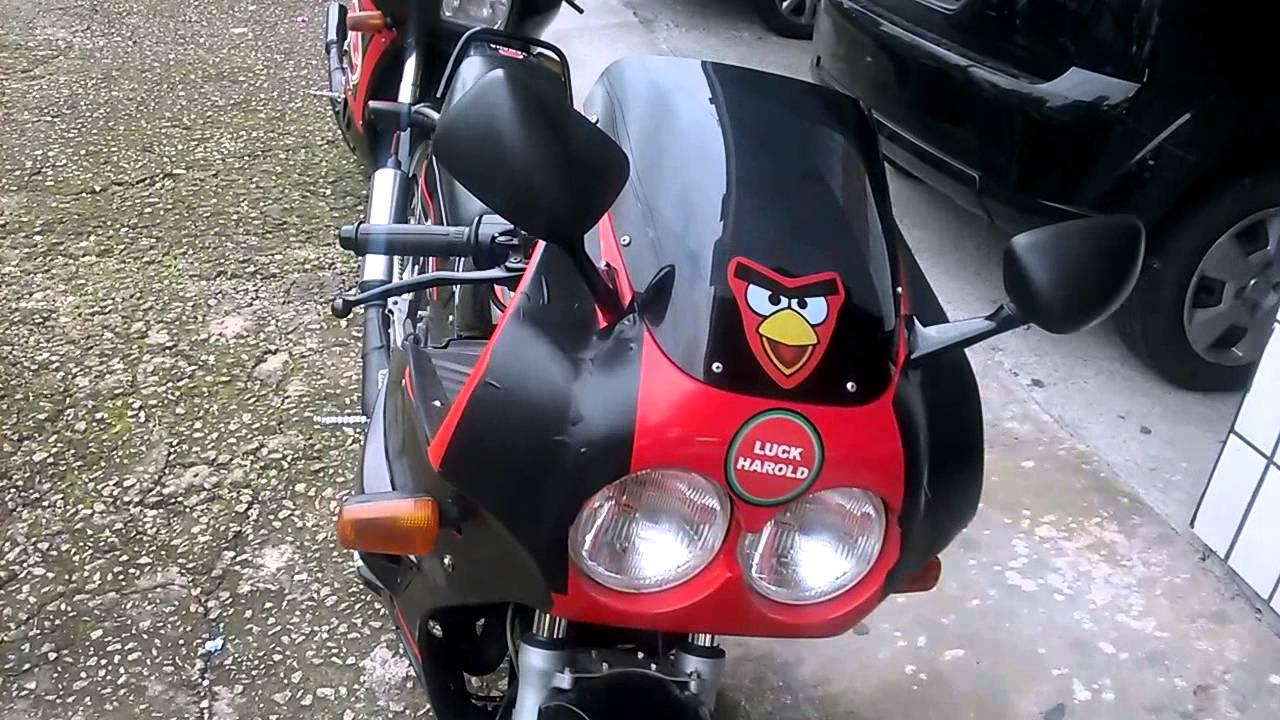 Luck Harold começando uma coleção de motos 2T