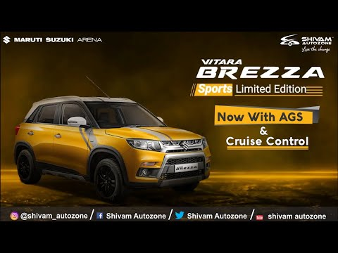 Brezza Sports Limited Edition - With Cruise Control & AGS