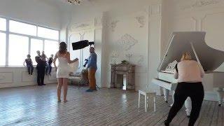 Свадебная семейная фотосессия в студии в Москве(фотограф Вадим wadich.net Квятковский И Надежда Ельцова., 2016-03-12T19:27:55.000Z)