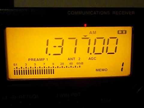1377 khz   - Tanzania - Radio Free Africa