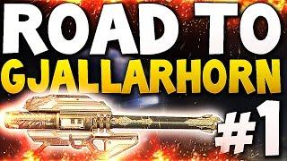 Destiny - Road to Gjallarhorn #1 (PS4)