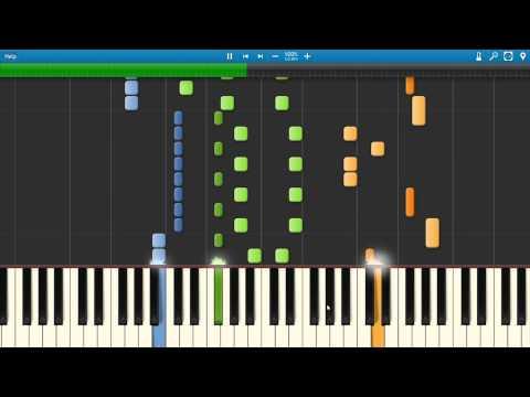 Zedd - Beautiful Now feat. Jon Bellion - Synthesia Piano Tutorial