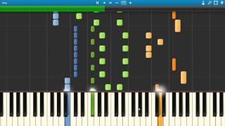 Zedd Beautiful Now Feat. Jon Bellion Synthesia Piano Tutorial