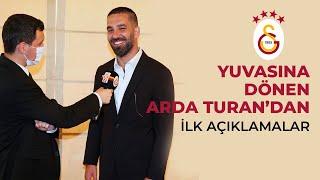 Yuvasına geri dönen Arda Turandan açıklamalar - Galatasaray