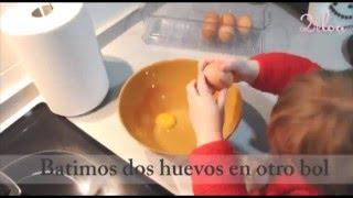Gambar cover Cocinar con niños: Tarta de nueces y almendras