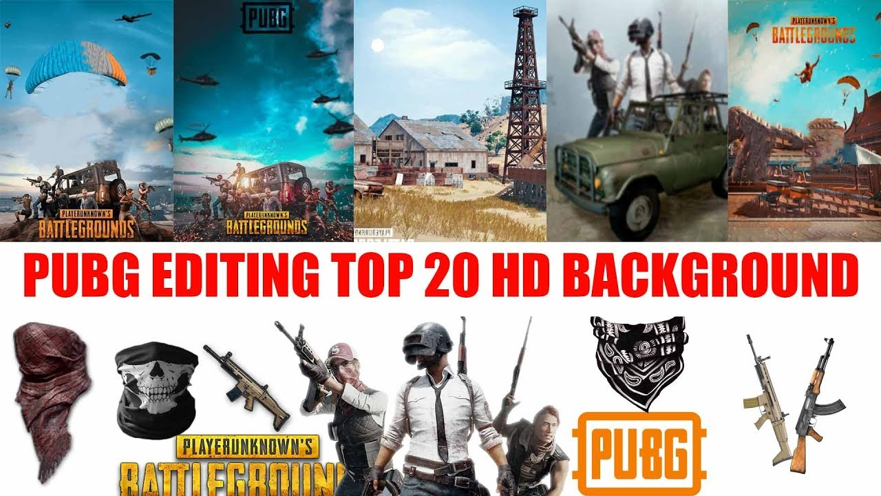 Downlode Pubg Game Editing Top 20 Hd Background And Zip File