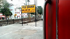 Early Morning ARRIVAL AND DEPARTURE of GAYA JUNCTION!!-Indian Railways