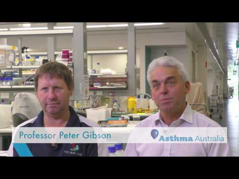 Prof Phil Hansbro and Prof Peter Gibson