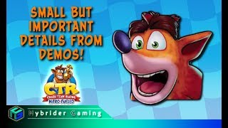 Small But Important Details From Demos | Crash Team Racing Nitro-Fueled