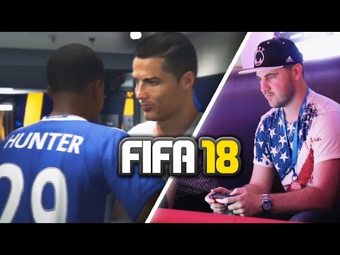 I PLAYED FIFA 18 AND THE JOURNEY EARLY!!!