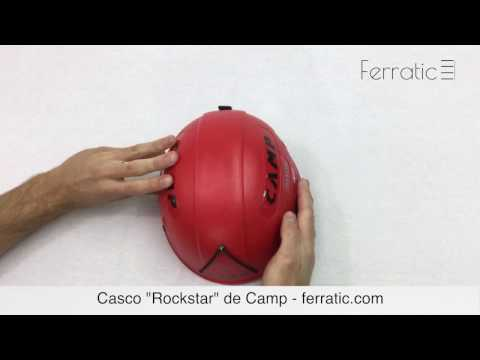 Casco Rockstar rojo de Camp - Ferratic