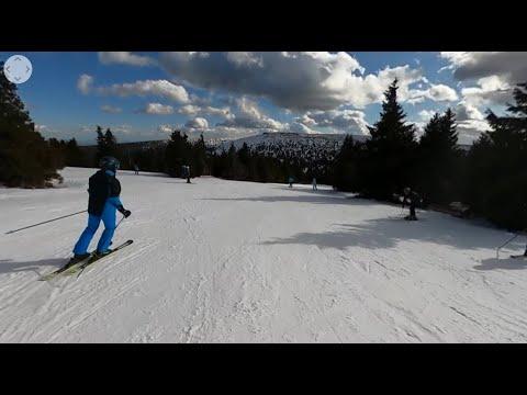 360 video Praděd   Václavák   poslední lyže