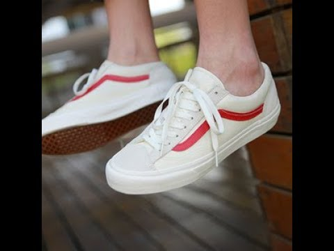 5a4340a9ba Monica reviews Vans style 36 Marshmal - YouTube