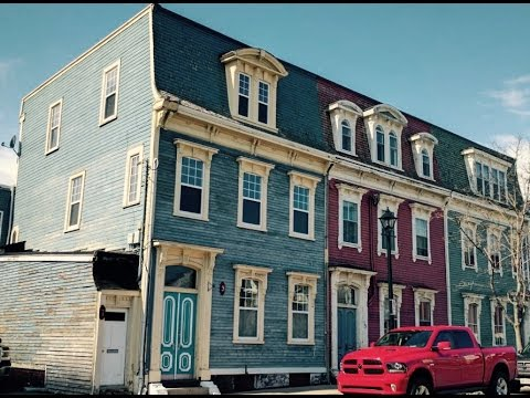 Jellybean houses demolition April 8, 2017 Saint John, N.B.