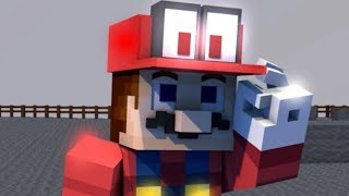 Super Mario Odyssey A Minecraft Animation Episode 2 Cap Kingdom