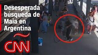 Desaparición de la niña Maia conmociona a Argentina