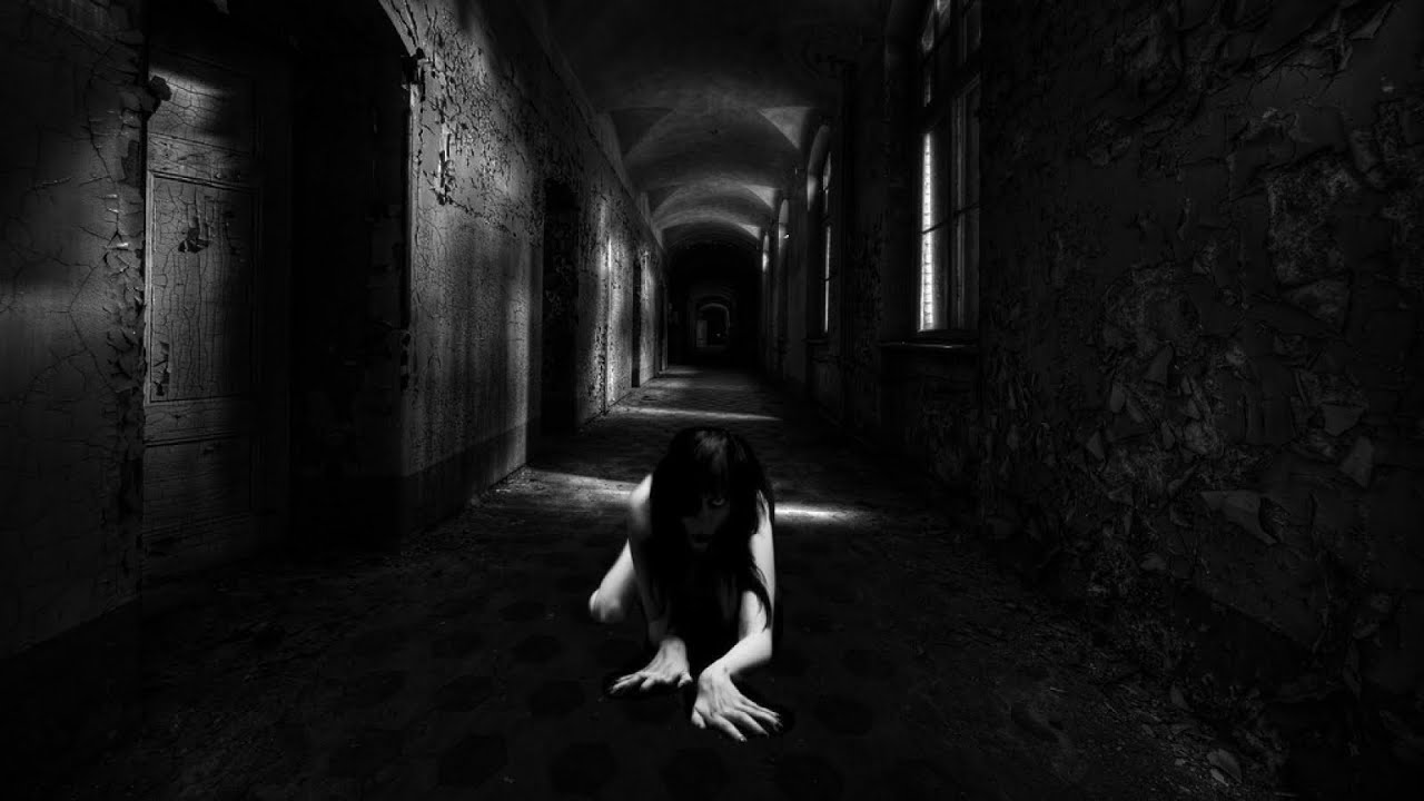 Dark corridors a horror game being chased youtube - Wallpaper corridor ...