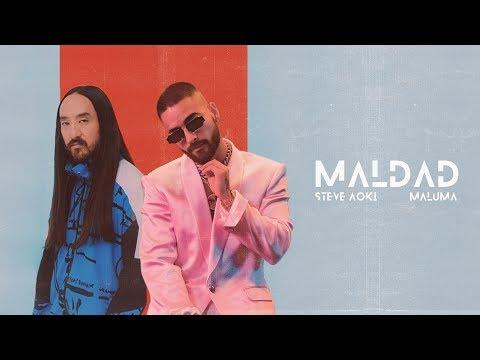 Steve Aoki & Maluma – Maldad (Letra)