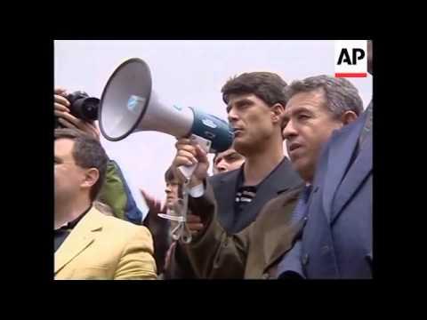 ALBANIA: KLA CHIEF HASHIM THACI VISIT
