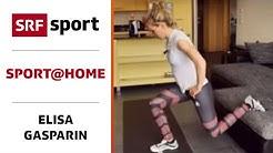 Kraft & Koordination mit Haushaltsgegenständen trainieren - Elisa Gasparin - sport@home - Folge 4
