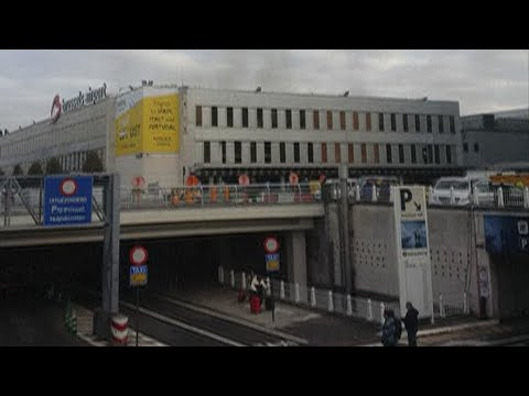 Explosions at Brussels airport and subway station