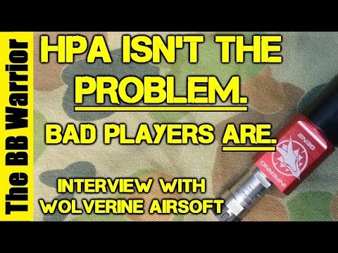 Stopping HPA Abuse | Interview with Wolverine Airsoft