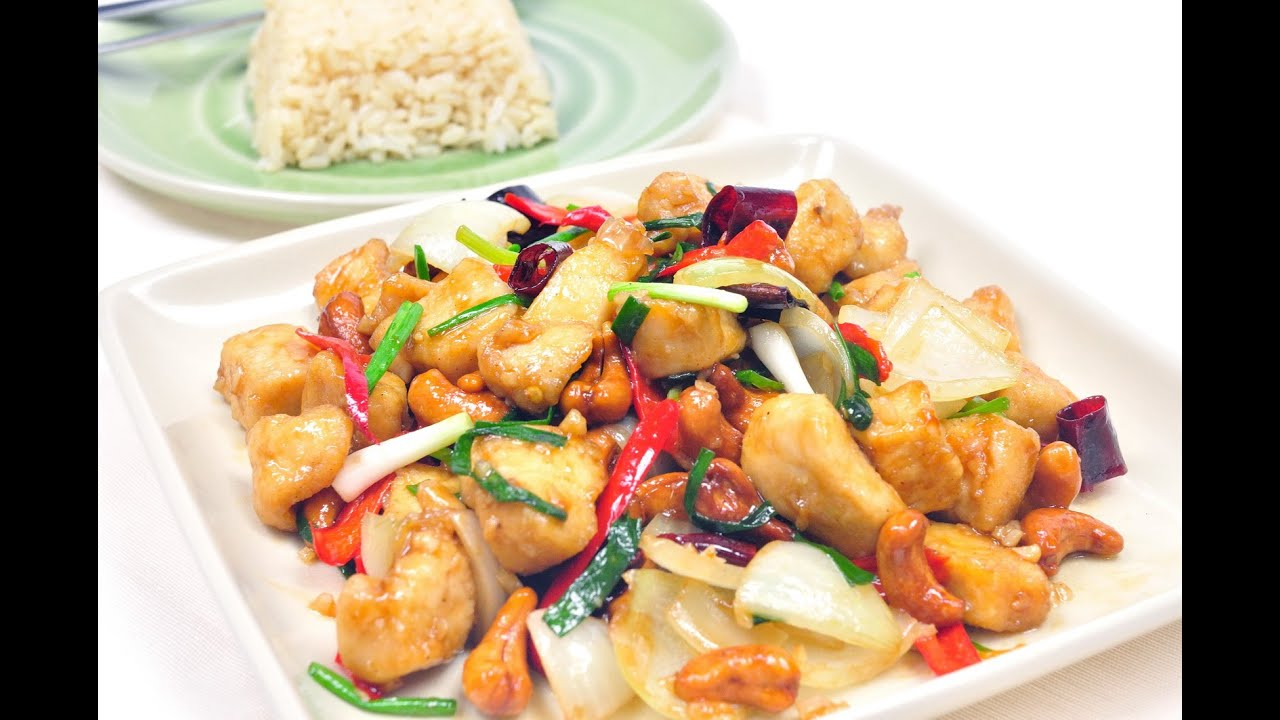 Cashew Chicken Thai Food