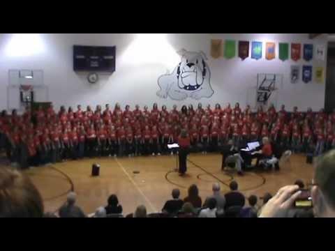 SDMEA Elementary Honor Choir in Beresford 2013