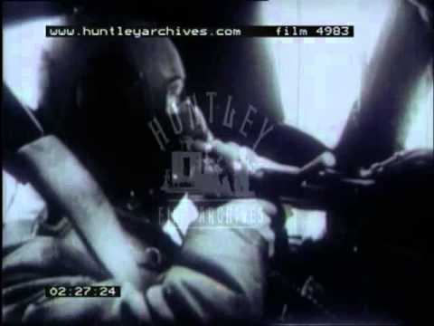 World War Two.  Plymouth bombed Archive film 4983