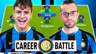 ⚔️ 1 VS 1 CAREER BATTLE CHALLENGE ZW VS GIUSE360 con l'INTER!⚽️