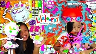 Lalaloopsy Color Me Doll and Lalaloopsy Littles Silly Hair - Kids