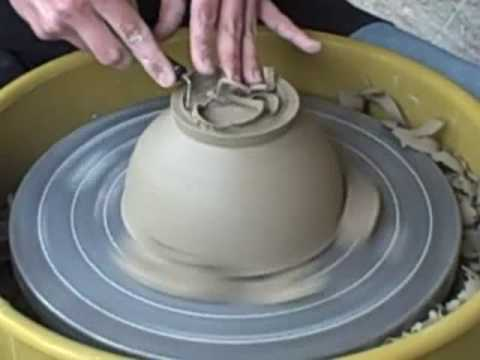 Ceramics For Beginners Wheel Throwing Trimming A Bowl