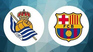 REAL SOCIEDAD 1  - 2 FC BARCELONA |  UN MAL BARÇA REMONTA EN ANOETA