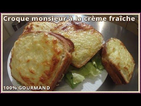 croque-monsieur-crème-fraîche