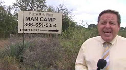 Man Camp in Three Rivers for Eagle Ford Shale