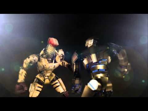 GRIDLOCK - The Bronzed Body Builder Bot