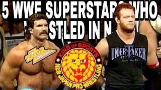5 WWE SUPERSTARS WHO WRESTLED IN NJPW!!!