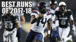 College Football Best Runs Of The 2017-18 Season ᴴᴰ