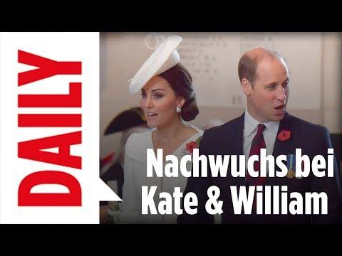 Nachwuchs bei den britischen Royals - BILD Daily live 04.09.17