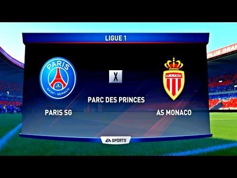 PARIS SAINT-GERMAIN X MONACO (4K - ULTRA HD ) PARC DES PRINCES - FIFA 17