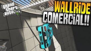 GTA 5   WALLRIDE POR EL CENTRO COMERCIAL?? WTF - GTA V CARRERA DE LA MUERTE #624   XxStratusxX