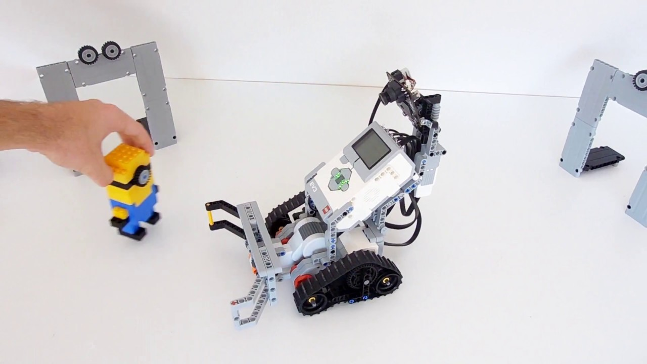 Camera Lego Mindstorm : Lego mindstorm ev pixy camera youtube