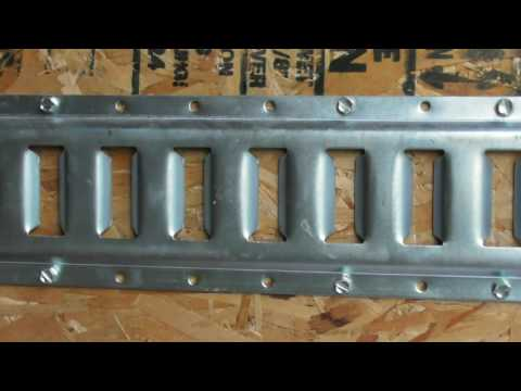 Harbor Freight E-Track and Tie Down Ring Review Item 66726 and 66728